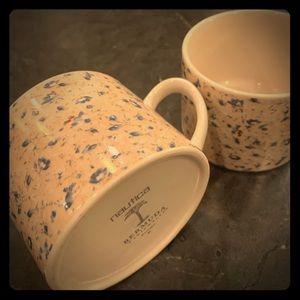 Nautica Designer Pair of Vintage Coffee Mugs